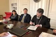 Българската Православна Църковна Община в Хага се сдоби със свой храм